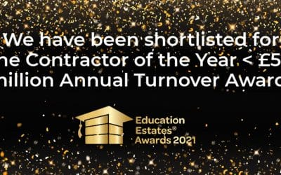 TG Escapes shortlisted for Contractor of the Year at the Education Estates Awards
